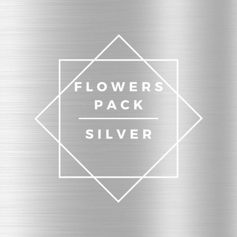 CBD Flowers, silver discovery pack
