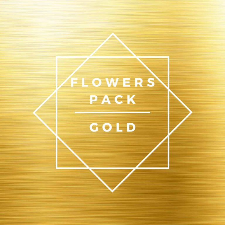 CBD Flowers, gold discovery pack
