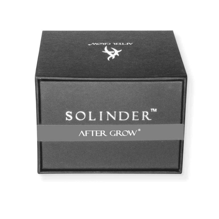 High end grinder box Metal 4 stages Solinder grey