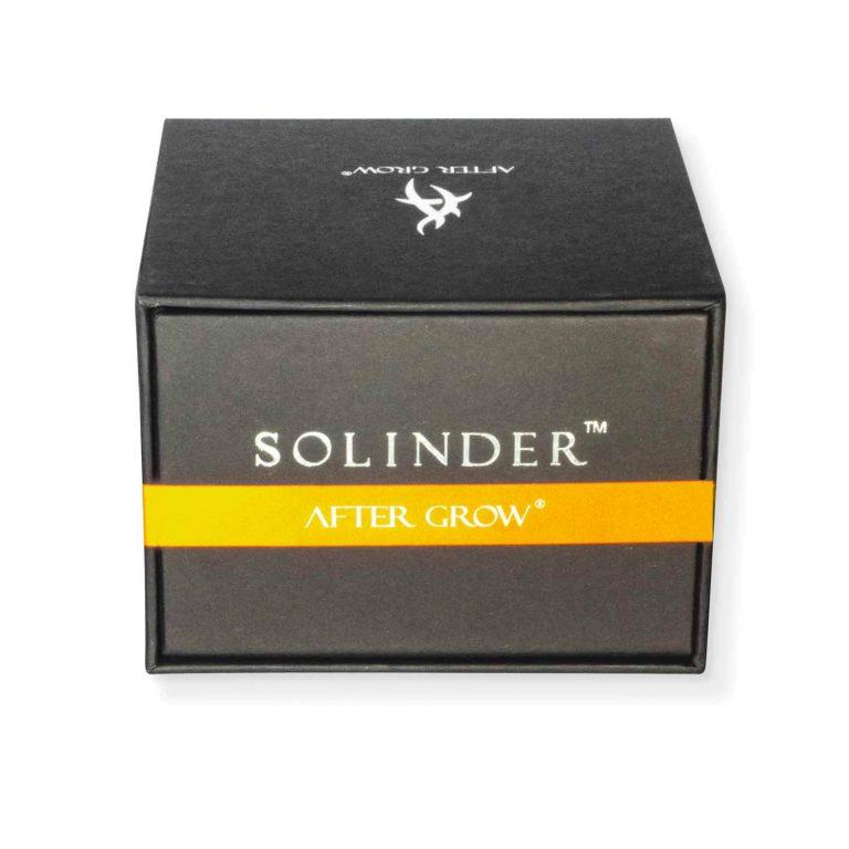 High end grinder box Metal 4 stages Solinder Orange
