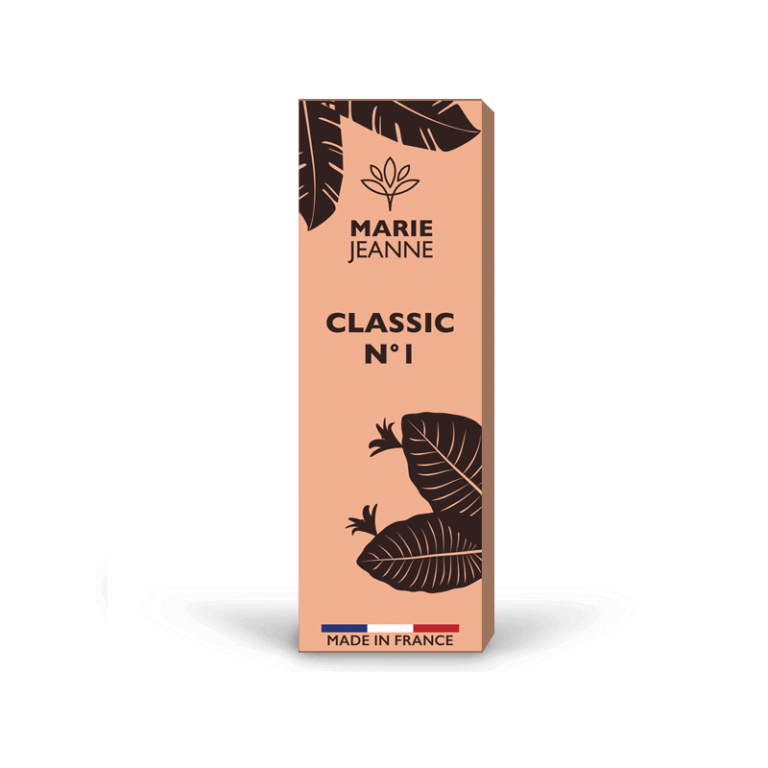 cbd e-liquid classic n°1, strong and soothing, Made in France