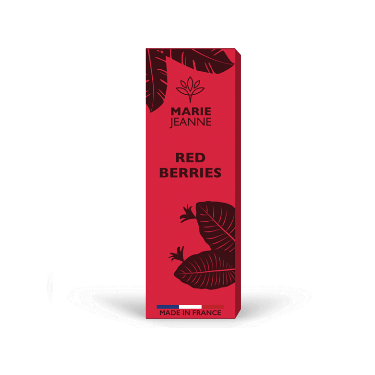 e-liquido CBD Red Berries di Marie Jeanne
