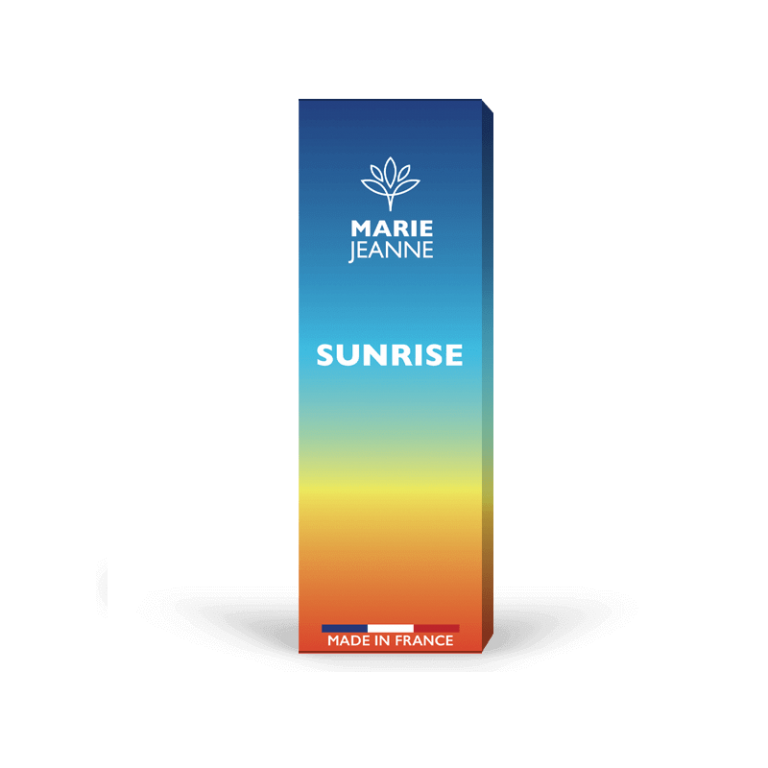 cbd e-liquid sunrise by Marie Jeanne, Made in France