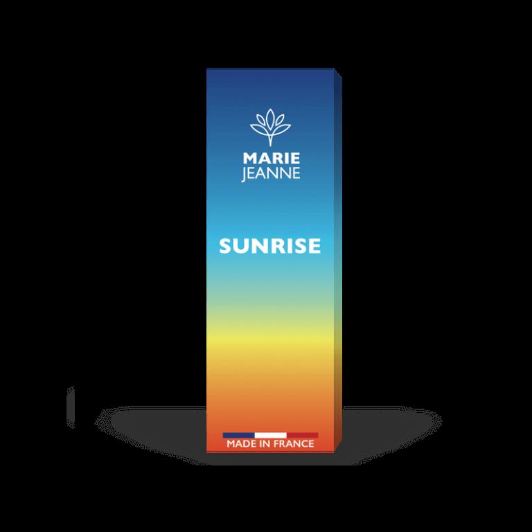 cbd e-liquid sunrise by Marie Jeanne, Made in France
