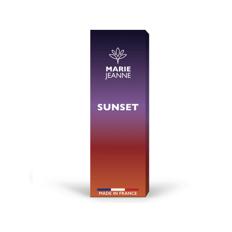 CBD e-liquid Sunset By Marie Jeanne, Made in France