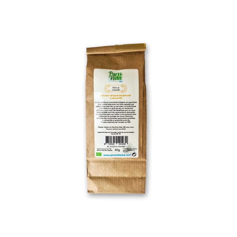 cbd herb infusion chamomile relaxing