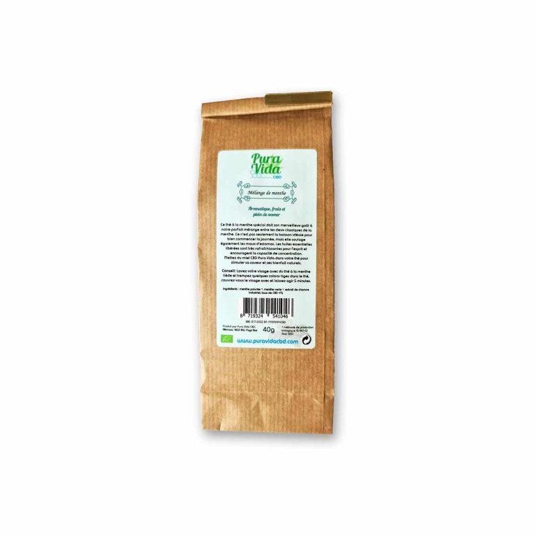 cbd herb infusion mint