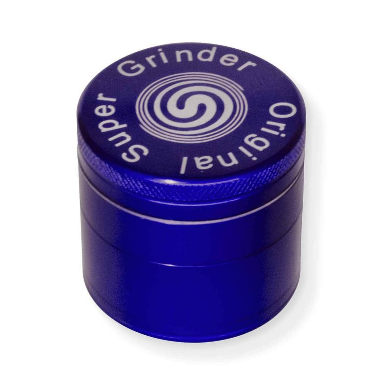 Grinder Metal 4 stages super grinder original blue