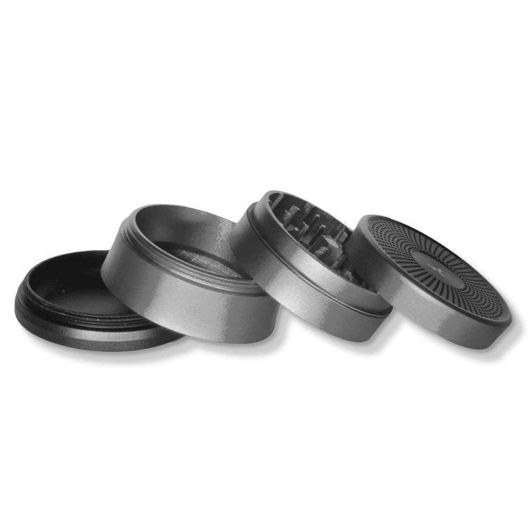 High-end Grinder Metal 4-stage Solinder Grey