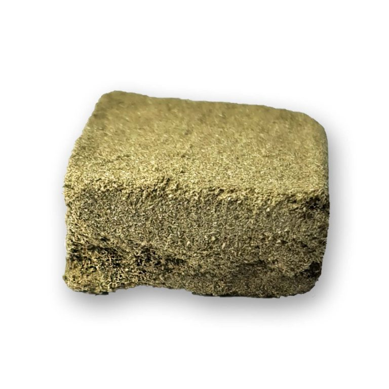 Bubble Kush Hash CBD Very powerful CBD resin, derived from the Bubble Kush CBD flower variety.